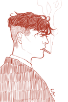 Tommy Shelby by kaachiiin