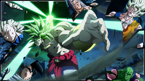 BROLY and co by Erushido