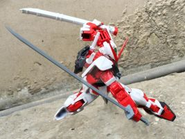Gundam Astray Red Frame (HG) by CLeRu087