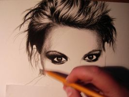 Britney Spears - WIP by tajus