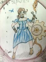 Steampunk Mizzy by LesFromages