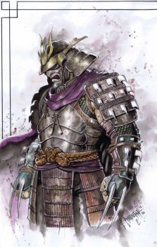 Shredder Samurai by emilcabaltierra