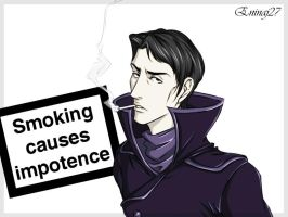 Smoking causes impotence by Eninaj27