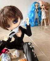 Pullip:  Dirty laundry by lovehaze
