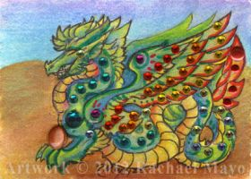 ACEO Dragon 09 by rachaelm5