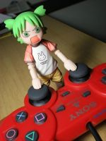 Yotsuba and Video Games by OvermanXAN