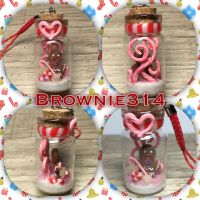 Gingy bottle charm ( Shrek) by Brownie314