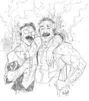 Father and son by RyanOttley