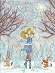 Magical Moments: Ice dancer by Percy-the-Donkabbit