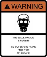 Warning Black Parade by LeeGaaFangirl