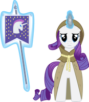 Rarity as Clover the Clever by Eskalante