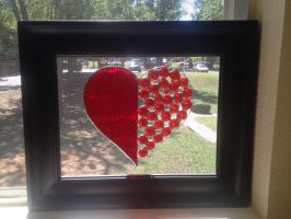 Framed Heart 2 - Against a window by PandoraX