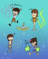 The Beatles under the Sea by thehurricanes