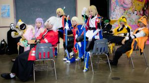 BlazBlue Gathering - Class Time by XxElJefexX