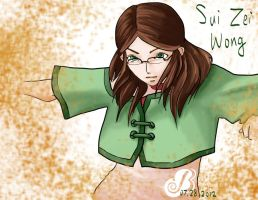 OC - Sui Zei Wong by PartlyWrong