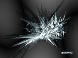 shattered ice by flashmind