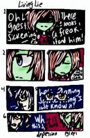 Invader Zim:Pg1 Ep1  ~Living Lie~ by Cutediepie