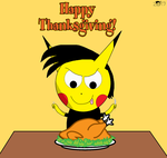 Happy Thanksgiving by pikachuandpichu106