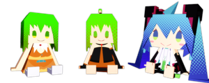 Append Papercraft Gumi + Download! by Nanana-P