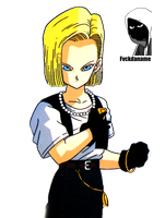Android 18 Render by fvckfdaname