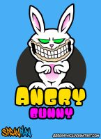 895graphics angry bunny by 895graphics