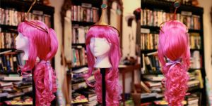 Princess Bubblegum Wig and Crown by ContagiousCostuming