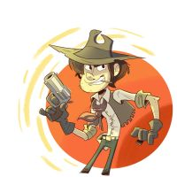 SketchDaily - Billy the Kid by GCrosbie