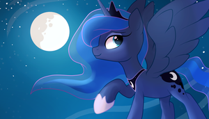 Princess Luna by LocksTO