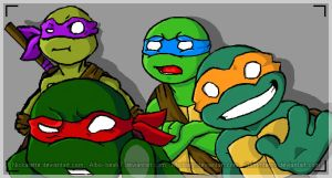 Iscrib: Turtle Power! by Grimmferno