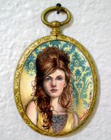Her Miniature Tattoo by NCEART