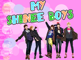 MY shinee boys by lonelyhere97