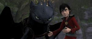 Evil/Anti Hiccup and Toothless by TheBandicoot