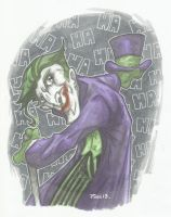 THE CLOWN PRINCE OF CRIME - THE JOKER by leagueof1