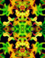 Fractal Abstract  4-2-2011 by Hillbillygirl