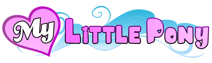 NEW My Little Pony Logo by MysteryMelt