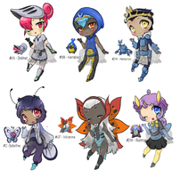 Pokejinka Adopt set - bug [$$][open] by LavvytheJackalope