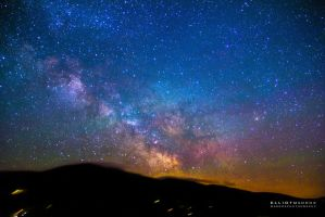 Milky Way on the Horizon by PhotoshopAddict89