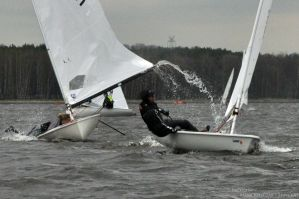 Sails Up, Race On by Tirrathee