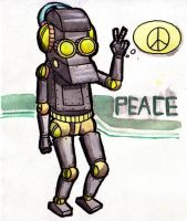 robo peace by oprik