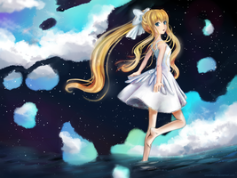 Misuzu in The Night by OrendiLaran