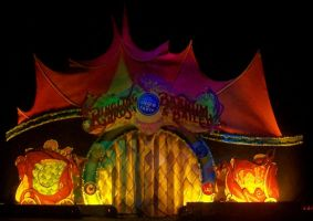 Ringling Dragons Stage by pink12301