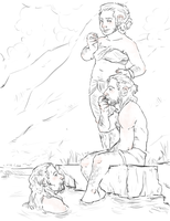 the Hobbit : summer in Erebor by LadyNorthstar