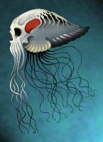 Sea Skull in color by verreaux