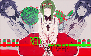 Red and Green by Paulina29