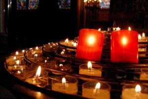 Candles at Notre Dame by ChappyApple
