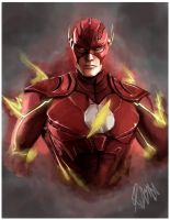 Injustice: The flash by RattledMachine