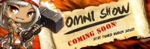 Maple Radio Banner: Omni Show Coming Soon by SapphireStar4eva