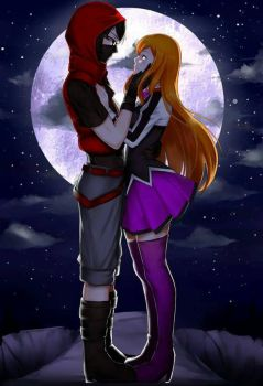 Endless Night,Endless Love by Zika-poi