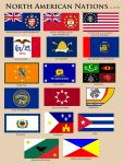 Flags of North America CY 50 by YNot1989