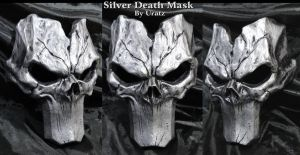 Silver Death Mask Darksiders 2 by Uratz-Studios